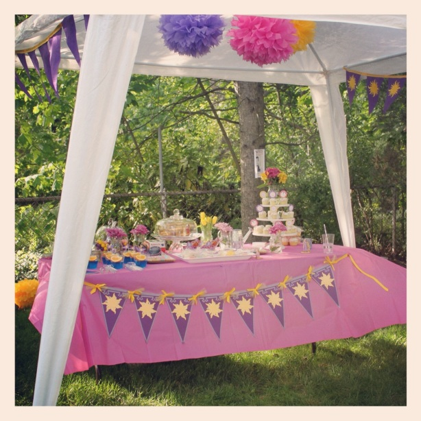 Tangled Party- Dessert Table