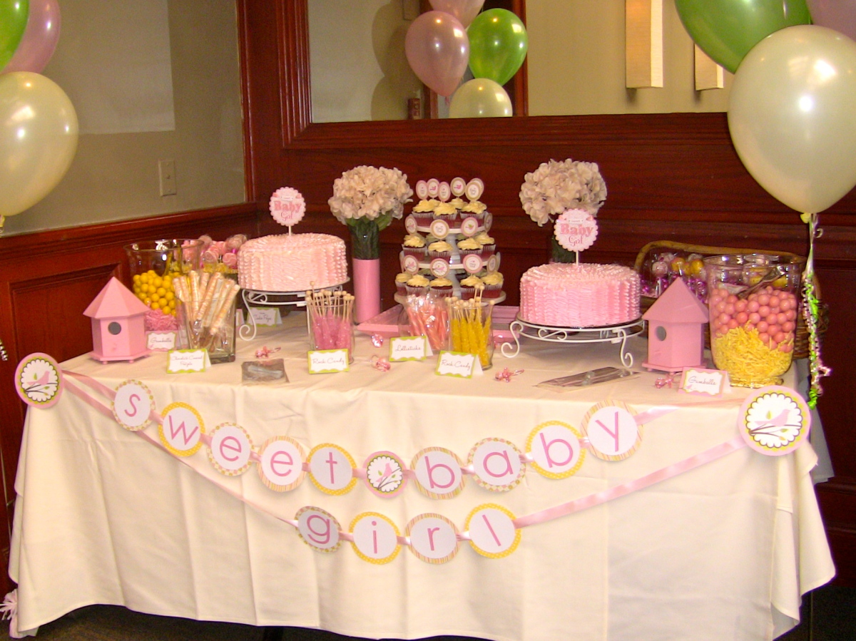 "{My Parties} Sweet ""Tweet"" Baby Shower"