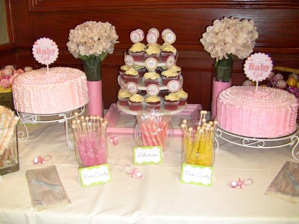 Center Dessert Table