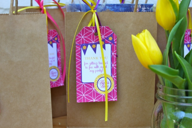 Tangled Party Favor bags