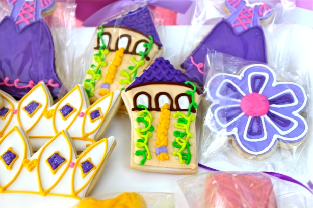 Tangled Party Cookies