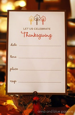 Anna and Blue Thanksgiving Printables