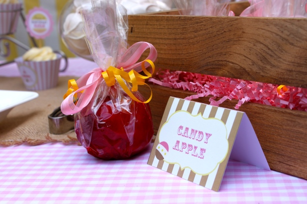 Candy Apples- Let Them Eat Sweets
