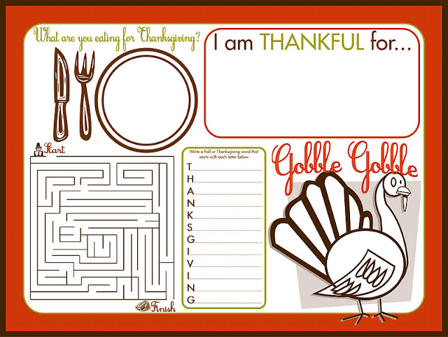 Give Thanks: Free Printable Thanksgiving Gathering Set
