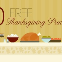 10 Free Thanksgiving Printables Links